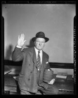 W. C. Fields, portrait, circa 1942