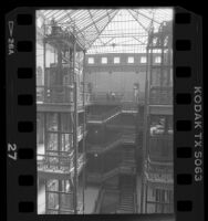 Bradbury Building, interior, Los Angeles, Calif., 1989