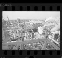 ARCO oil refinery in Carson, Calif., 1989