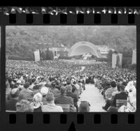Easter service at the Hollywood Bowl, Calif., 1961