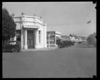 Street scene in downtown Culver City, Calif., circa 1920