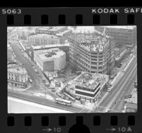 Construction of New Otani Hotel, Little Tokyo (Los Angeles), 1976