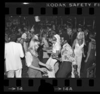 Dancers at Disco 9000 in West Hollywood, Calif., 1976
