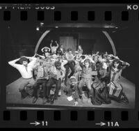 """Production of """"Skyjack '76: Entebbe,"""" at La Mama Hollywood, Calif., 1976"""