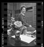 Rose Bird, Chief Justice of the California Supreme Court, 1977