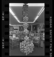 Record album display at the Hollywood Music Plus store in Hollywood, Calif., 1980