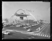 Theme Building at Los Angeles International Airport, 1961
