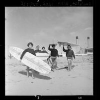 California Coast Girls Surf Club, 1963