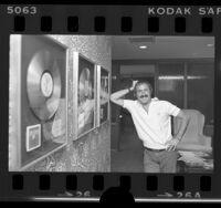 Al Coury , RSO Records president, 1978