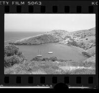 USC's Catalina Marine Science Center on Santa Catalina Island, Calif., 1978