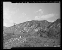 Waterline near the northern boundary off Foothill Blvd in Los Angeles, Calif., 1947