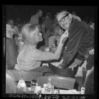 Doris Day and Ralph Levy at SHARE's 11th annual Boom Town fundraiser in Los Angeles, Calif., 1964