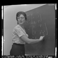 Lorraine Turnbull Foster, first woman to earn Ph.D. in math at Caltech, 1964