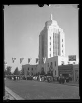 Van Nuys City Hall dedication, 1933