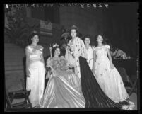 Los Angeles' 1946 Mexico Independence Day queen and court