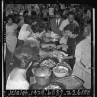 Sampaguita Women's Circle Salo-Salo fundraising event in Los Angeles, Calif., 1964
