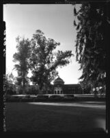Know Your City No.45 Grounds and front view of the Administration Building at Los Angeles City College on Vermont Ave.