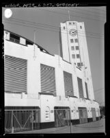 Know Your City No.131 Entrance and tower of Los Angeles' Wrigley Field on E 42nd Place at Avalon Blvd