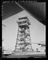 Know Your City No.133 Four-legged steel girder control tower at Los Angeles International Airport