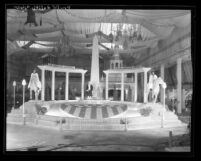 Los Angeles County's patriotic themed exhibit at the Orange Show in San Bernardino, Calif., 1932