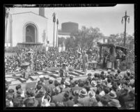 Los Angeles Union Station's opening day parade, 1939