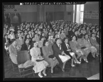 Japanese American women at California Young Buddhists' League