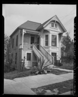 House at 201 N. Flower St, turned into apartments Los Angeles, Calif., 1946