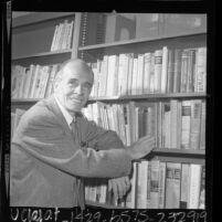 Lawrence Clark Powell, University Librarian for UCLA, 1966