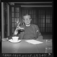 James A. Pike, Episcopal Bishop of California at San Francisco, 1966