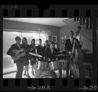 Members of The Congregation musical group from St. Paul's Lutheran Church in Santa Monica, Calif., 1967