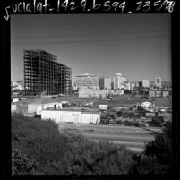 Construction of Los Angeles Federal Building at 11000 Wilshire Blvd. and Sepulveda, 1967