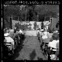 Thanksgiving pageant, Claremont, Calif., 1967