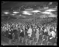 Mass meeting of the Women of the Pacific at Shrine Auditorium, Los Angeles, Calif., 1938