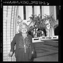 Betty Friedan at USC, 1986