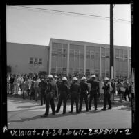 Student walkout at Venice High School in Venice, Calif., 1968