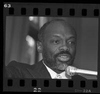 California Assembly Speaker Willie Brown, 1986