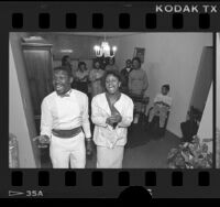 Vessels of Christ Ministry Choir in South Central Los Angeles, Calif., 1986