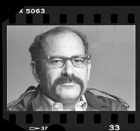 Los Angeles County Sheriff Sherman Block, portrait, 1986