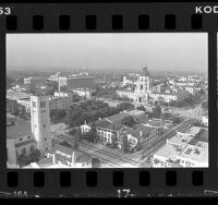 Civic center of Pasadena, Calif., 1986