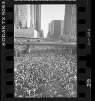 Heart of City 5k run in Los Angeles, Calif., 1986
