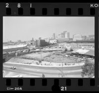 Toxic waste site across from Los Angeles Union Station, 1986