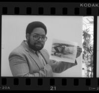 Lonnie Bunch, curator at California Afro-American Museum, 1986