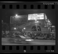Gazzarri's club on the Sunset Strip in Hollywood, Calif., 1986