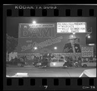 Gazzarri's club on the Sunset Strip in Hollywood, Calif., 1986