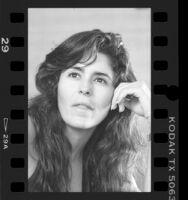 Maria Conchita Alonso, portrait, 1986