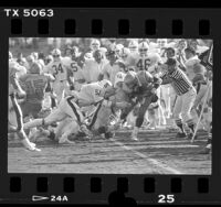 Stanford vs UCLA football game, 1986