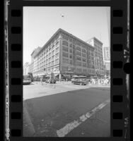 Former Bullock's Building at 7th and Broadway in Los Angeles, Calif., 1986