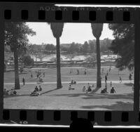 MacArthur Park in Los Angeles, Calif., 1971