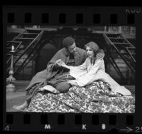 "Actors James Earl Jones and Jill Clayburgh in Los Angeles stage production of ""Othello"", 1971"