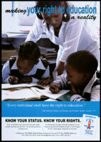 Making your right to education a reality [inscribed]